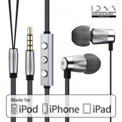 Alauda Full Metal Earphones-3 Button